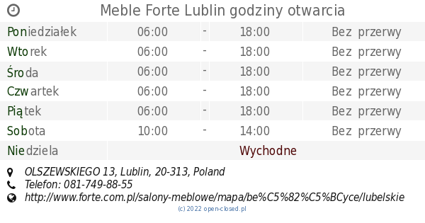 Meble forte lublin